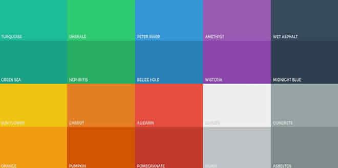 Los colores en el diseño web profesional