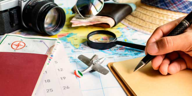 El guía turístico y su modus operandi
