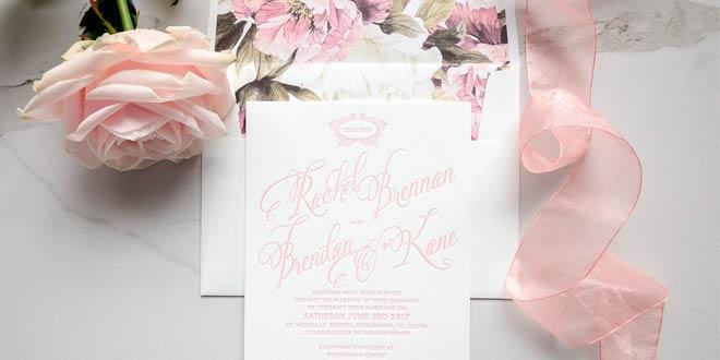 Tips para hacer las invitaciones de boda