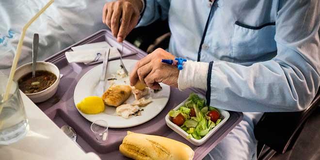Alimentación saludable en hospitales y clínicas