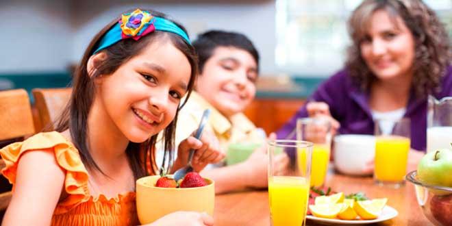 Dieta para tratar la obesidad infantil