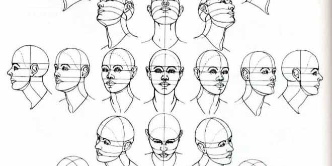 Cómo aprender a dibujar rostros paso por paso