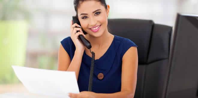 Recepcionista, una profesión multitareas
