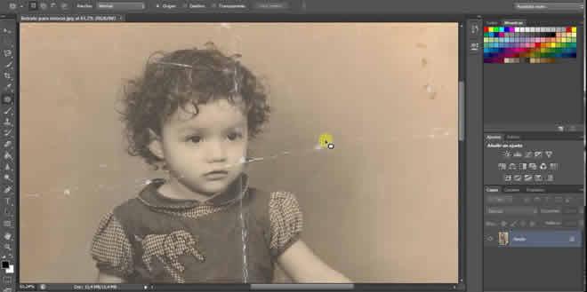 Cómo restaurar fotos antiguas