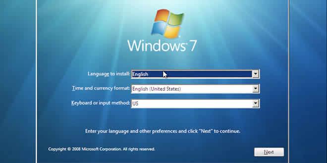 Reparación de pc: pasos para instalar el sistema operativo