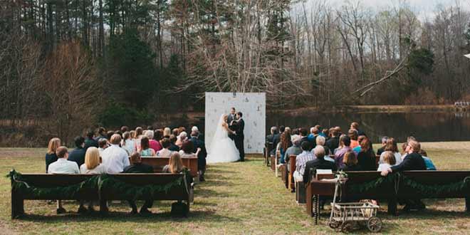 Consejos de una wedding planner para bodas campestres