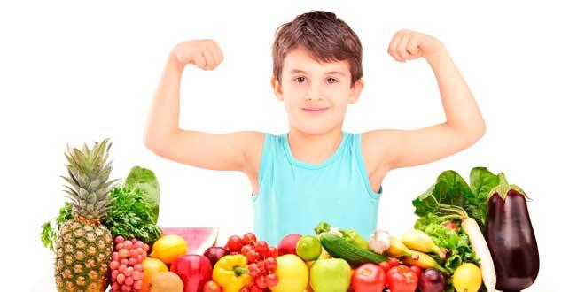 Comidas saludables para los más chicos