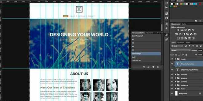 Tips para el diseño web con Photoshop