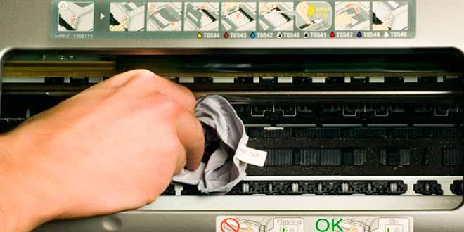 Las impresoras y su limpieza