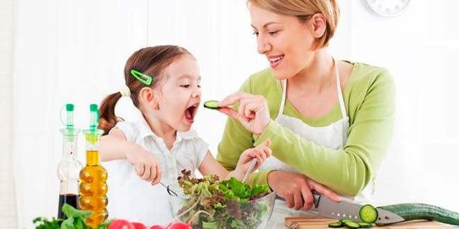 Cómo implementar una dieta saludable para niños