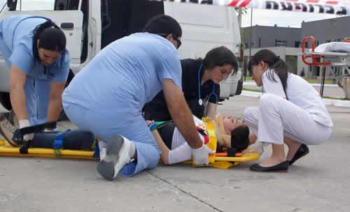 Funciones de los asistentes en emergencias médicas