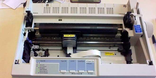Las impresoras matriciales