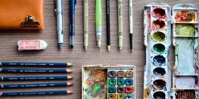 Materiales básicos para el dibujo artistico