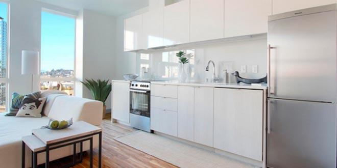 El diseño de cocinas integradas