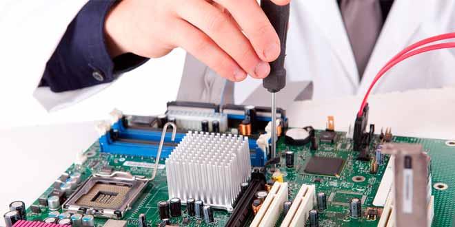 La reparación de PC como actividad comercial