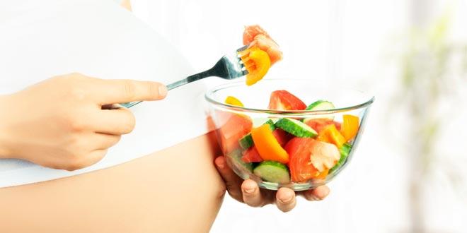 Alimentación saludable para embarazadas
