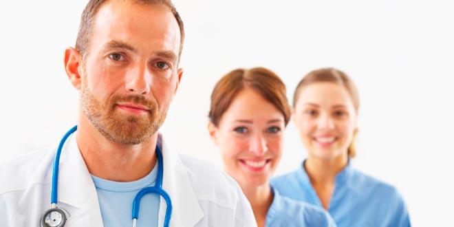 El servicio de salud y sus profesionales