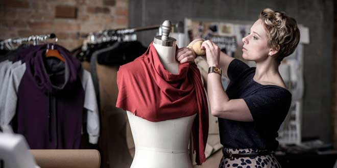 El diseño de indumentaria y la elección del material textil