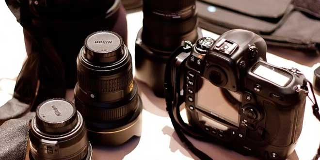 Equipo básico de fotografía
