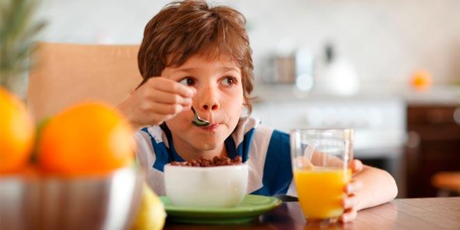 Alimentación saludable durante la infancia