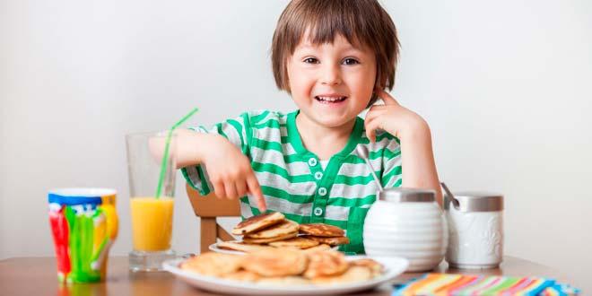 Dietas para niños en edad de crecimiento