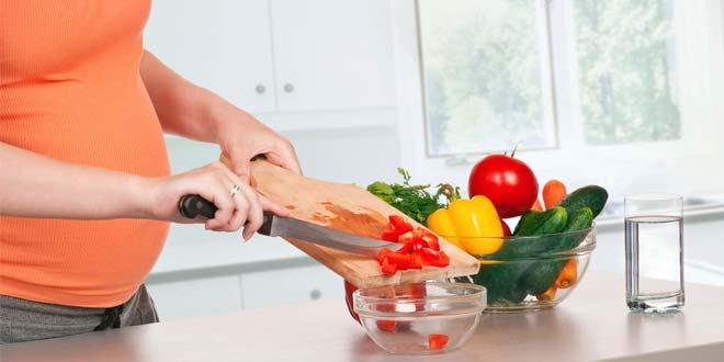Alimentación y nutrición durante el embarazo