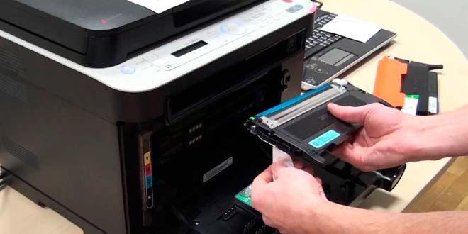 ¿Cómo funciona una impresora láser?