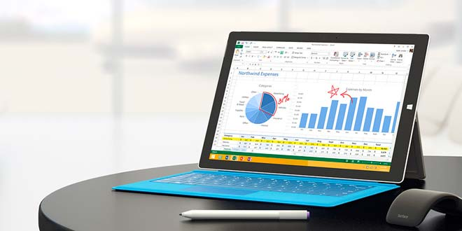 La hoja de trabajo en Excel