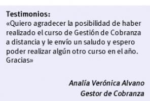 Curso de Gestor de Cobranzas | FUDE
