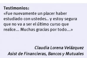 Curso de Asistente de Financieras, Bancos y Mutuales | FUDE