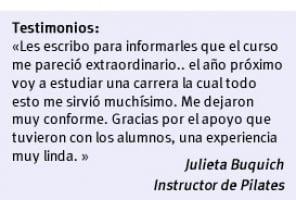 Curso de Instructor de Pilates   FUDE