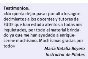 Curso de Instructor de Pilates | FUDE