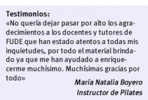 Curso de Educación Física | FUDE